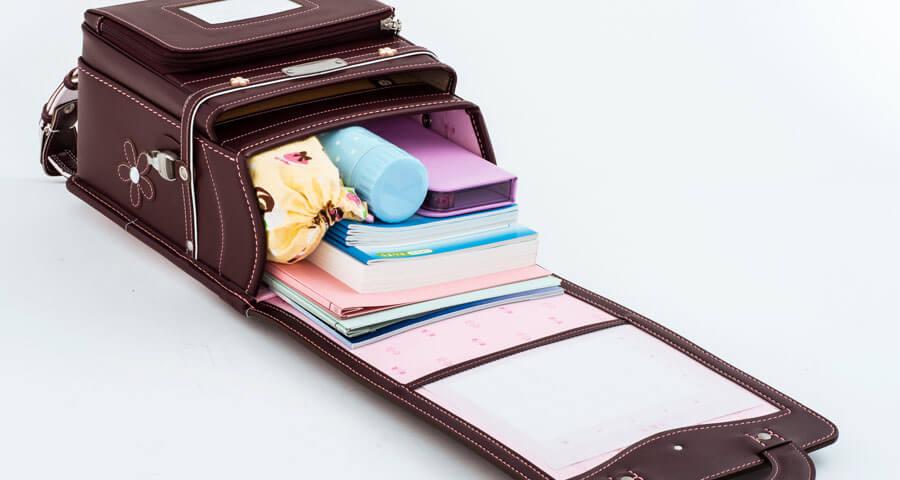 鞄工房山本ランドセルの内容量はこんな感じ