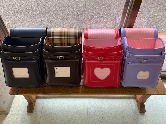 横山鞄ランドセルの内装デザイン